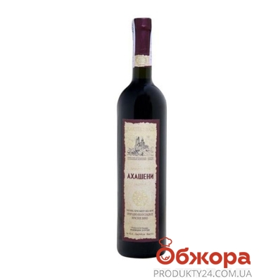 Вино Картули Вази (Kartuli Vazi) Ахашени красное п/сл. 0,75 л – ИМ «Обжора»