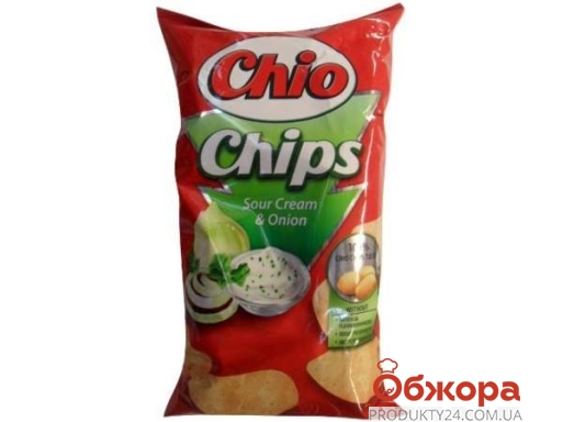 Чипсы Чио (Chio) сметана/лук 150 г – ИМ «Обжора»