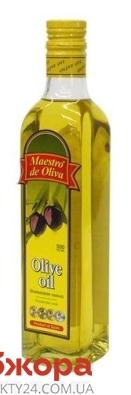 Оливковое масло Маэстро де олива рафинированное 0,5 л – ИМ «Обжора»