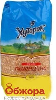 Крупа пшеничная Полтавская 0,8 кг. Хуторок – ИМ «Обжора»