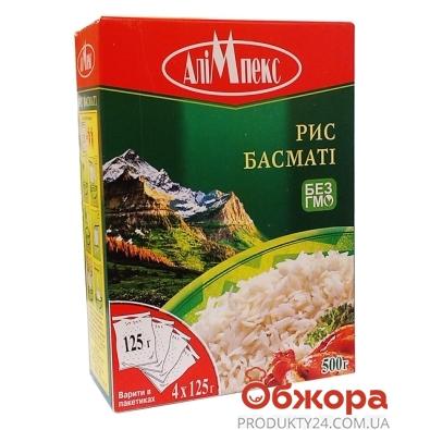 Рис Алимпекс 4*125г басмати – ИМ «Обжора»