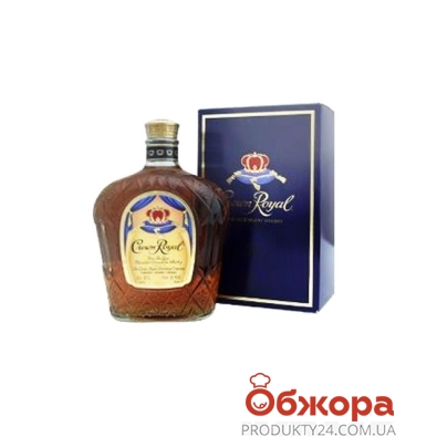 Віскі Crown Royal 700 мл – ІМ «Обжора»