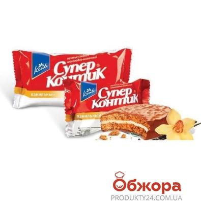 Печенье Конти (Konti) Супер-Контик ваниль 100 г – ИМ «Обжора»