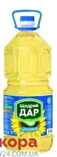 Подсолнечное масло Щедрый дар рафинированное 3 л – ИМ «Обжора»