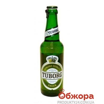 Пиво Туборг (Tuborg) Грин 0.33 л – ИМ «Обжора»