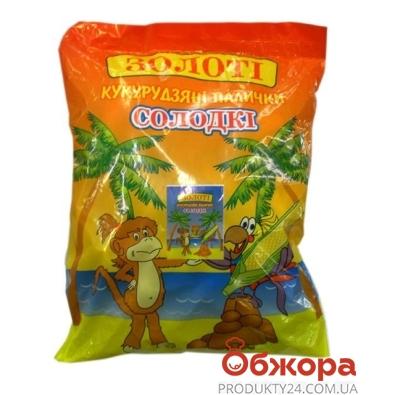 Кукурузные палочки Ласунка сладкие  Золотые 170 гр. – ИМ «Обжора»