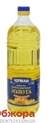 Подсолнечное масло Чумак рафинированное 2 л – ИМ «Обжора»