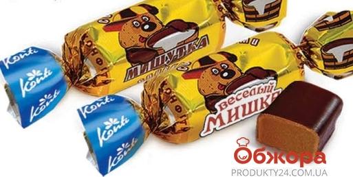 Конфеты Конти (Konti) Мишутка со сливками – ИМ «Обжора»