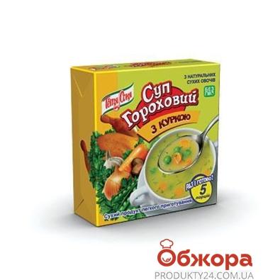 Суп Тетя Соня гороховый с курицей брикет 180 гр. – ИМ «Обжора»