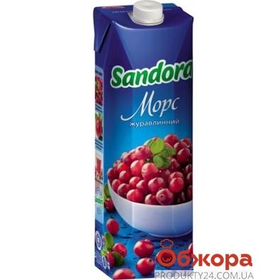Морс Сандора (Sandora) клюква 1 л – ИМ «Обжора»