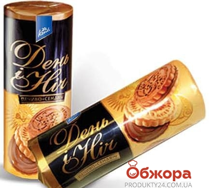 Печенье Конти (Konti) Сендвич День и ночь 210 г – ИМ «Обжора»