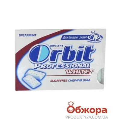 Жевательная резинка Орбит под. профессионал вайт – ИМ «Обжора»