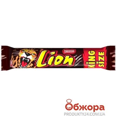 Батончик шоколадный Нестле (Nestle) Лайон Кинг Сайз 70 г – ИМ «Обжора»