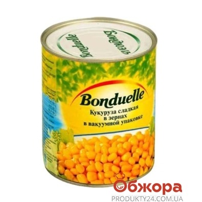 Кукуруза Бондюэль (Bonduelle) 670 г – ИМ «Обжора»
