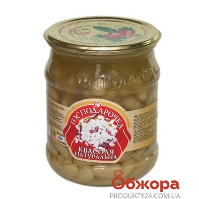 Фасоль Господарочка натуральная 500 г – ИМ «Обжора»