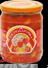 Фасоль Господарочка по-домашнему, в остром соусе  500 г – ИМ «Обжора»