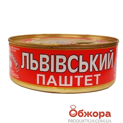 Паштет Господарочка Львовский 250 гр. – ИМ «Обжора»