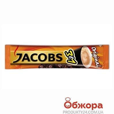 Кофе Якобс (Jacobs) 3в1 Original 12 г – ИМ «Обжора»