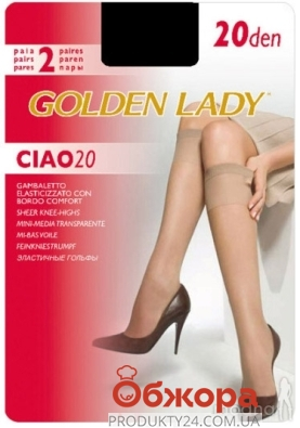 Гольфы Голден Леди (GOLDEN LADY) ciao 20 nero gambaletto – ИМ «Обжора»