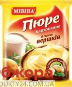 Пюре Мивина 37г пакет сливки – ИМ «Обжора»