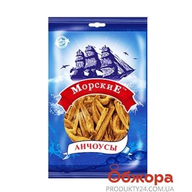 Анчоусы сушенный Морские 40 г – ИМ «Обжора»
