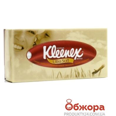 Салфетки Клинекс (Kleenex) Ultrasoft 56 шт. – ИМ «Обжора»