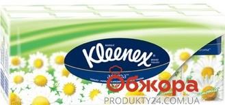 Хустки нос. KLEENEX VELTIE 10*10 аром. ромашка – ІМ «Обжора»
