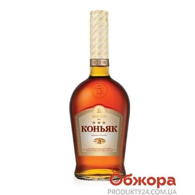 Коньяк Шустов ординарный 3* 0,25 л. – ИМ «Обжора»
