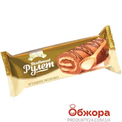Рулет Рошен сгущенка 200 г – ИМ «Обжора»