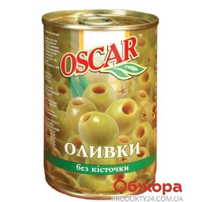 Оливки Оскар (Oscar) без косточки 300 гр. – ИМ «Обжора»