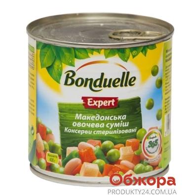 Конс.Бондюэль (Bonduelle) Овощная смесь Македонская 400 г – ИМ «Обжора»
