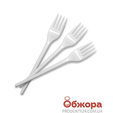 Вилка Пластик  Одноразовая 10 шт – ИМ «Обжора»