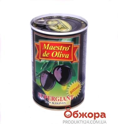 Маслины Маэстро де олива (Maestro de Oliva) супергигант 425г без косточки – ИМ «Обжора»