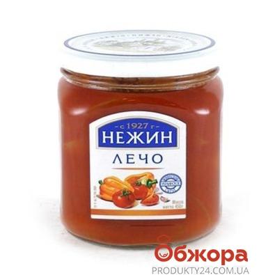 Лечо Нежин 450 мл – ИМ «Обжора»