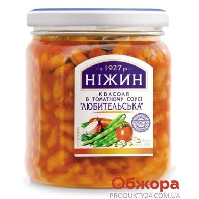 Фасоль Нежин в томатном соусе Любительская 450 мл – ИМ «Обжора»