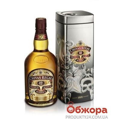 Виски Чивас (Chivas) регал 0,7 л. 12 лет – ИМ «Обжора»