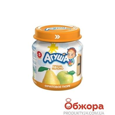 Пюре Агуша Грушево-яблочное 115 г – ИМ «Обжора»