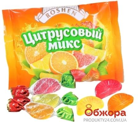 """Конфеты Рошен """"Цитрусовый микс"""" карамель вес – ИМ «Обжора»"""