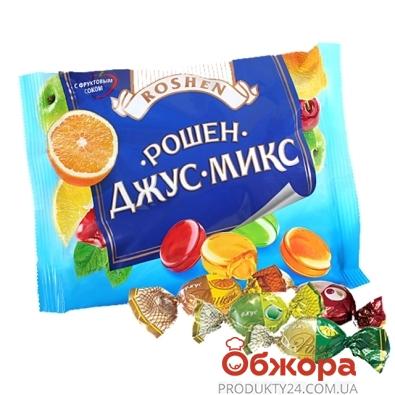 Конфеты Рошен (Roshen) карамель Рошен-микс джус 300 г – ИМ «Обжора»