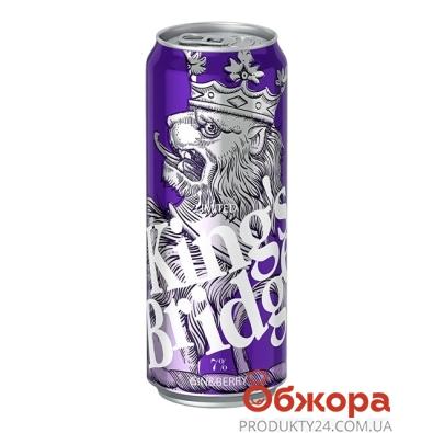 Напиток Кингз-Бридж 0,5л Джин-ягода ж/б – ИМ «Обжора»