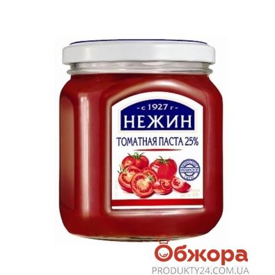 Томатная паста Нежин 25% 470 мл – ИМ «Обжора»