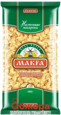 Макароны Макфа (Makfa) Петушинные гребешки 450г – ИМ «Обжора»