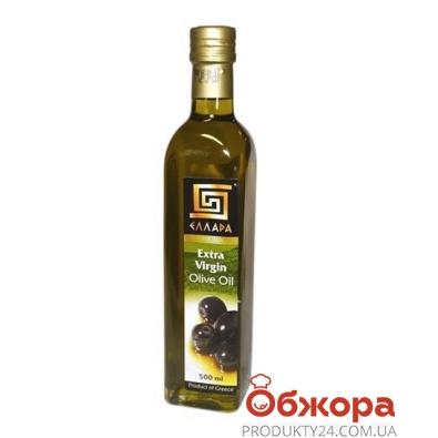 Оливковое масло Эллада (Ellada) Extra Virgin 0,5 л – ИМ «Обжора»