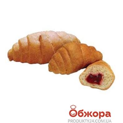 Круассан Булкин с клубничной начинкой  80 гр. – ИМ «Обжора»