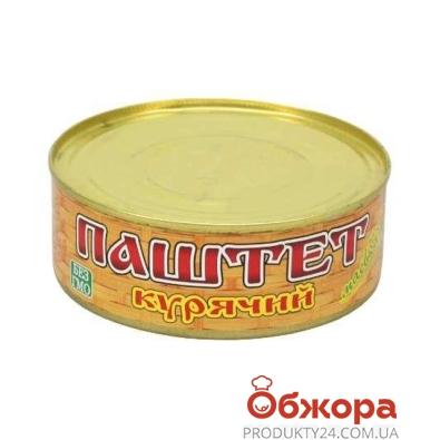 Паштет Маевка Куриный 250 гр. – ИМ «Обжора»