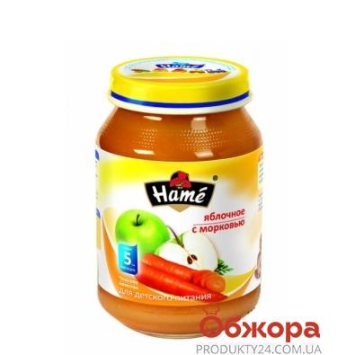 Пюре Хаме (Hame) Яблоко-морковь 190 г – ИМ «Обжора»