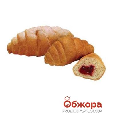 Круассан Булкин с малиновой начинкой 80 г – ИМ «Обжора»