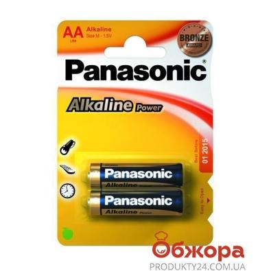 Батарейки Панасоник (Panasonic) LR 6 Alkaline 2BP – ИМ «Обжора»