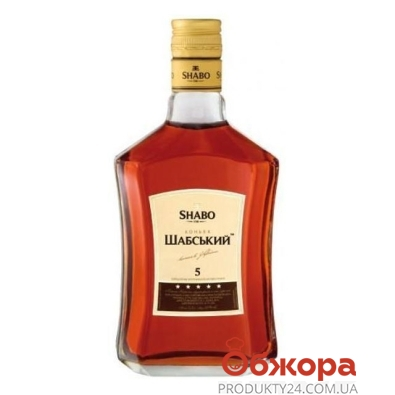 Коньяк Шабо (Shabo) Шабский 5* 0,5л – ИМ «Обжора»