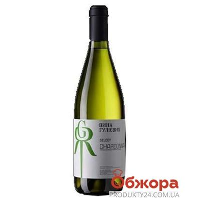 Вино Вина Гулиевых 0,75 л. Шардоне белое Select – ИМ «Обжора»